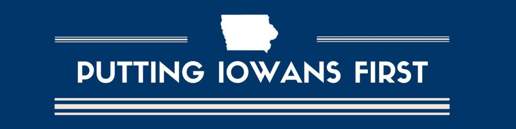 "Dems: Lawmakers Unveil ""Putting Iowans First"" Plan"