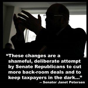 Dems: Senate Republicans vote to shut out Iowans