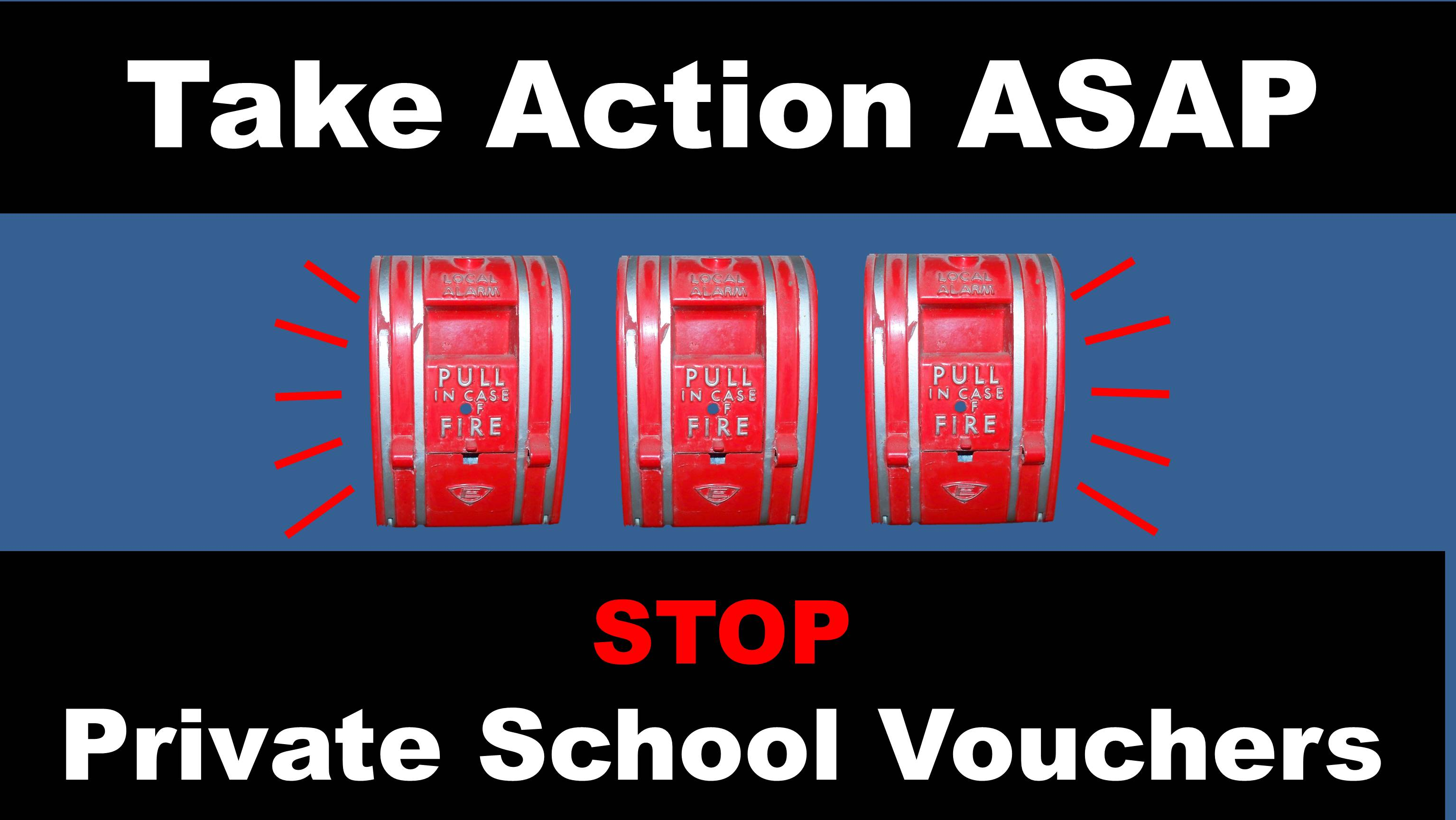 Dems: Emergency Action to stop private school vouchers