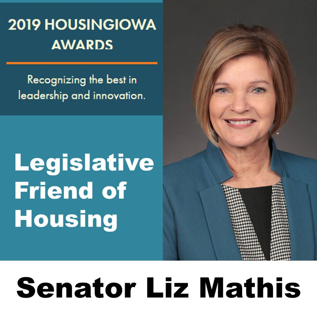 Dems: Mathis named Legislative Friend of Housing