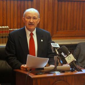 State Senator Bill Dotzler of Waterloo