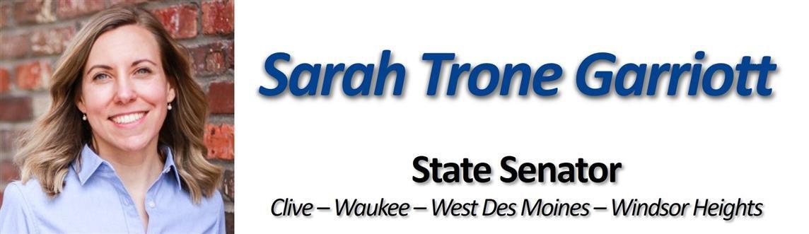 State Sen. Sarah Trone Garriott